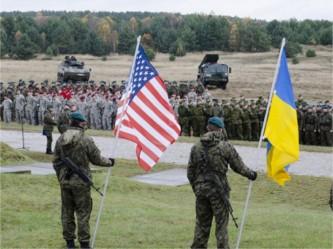 ВС Украины и США
