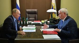 Владимир Путин и Георгий Полтавченко