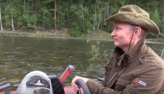 Владимир Путин на отдыхе в Сибири