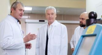 Собянин посетил больницу имени С.С. Юдина