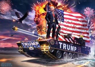 Дональд Трамп и ВС США