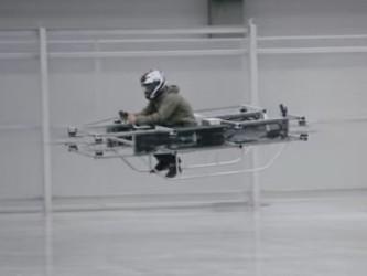 Летающий мотоцикл Калашникова