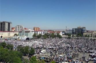 Митинг в Грозном