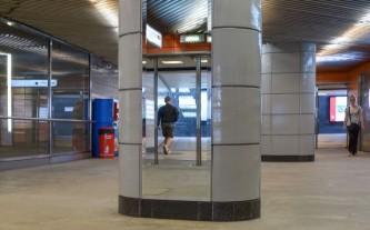 Зеркала в метро