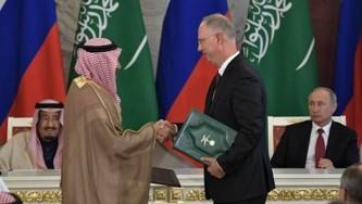 Подписание российско-саудовских соглашений