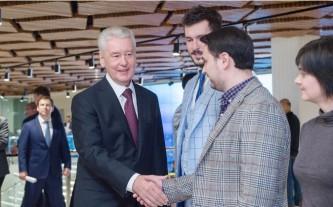 Собянин посетил Центральный дом предпринимателя