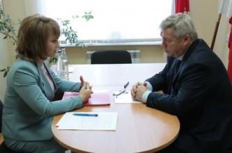 Василий Голубев и Наталья Мирющенко