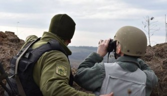 Донбасс, линия разграничения