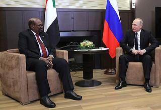 Российско-суданские переговоры