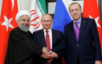 Рухани, Путин и Эрдоган