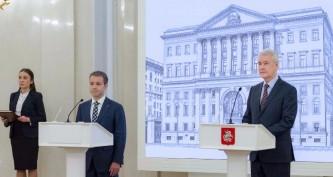 Сергей Собянин и Николай Никифоров