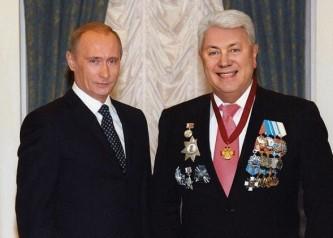 Владимир Путин и Владимир Винокур