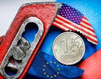 Рубль в тисках США и ЕС