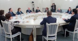 Собянин встретился с участниками проекта Лидер.Мед