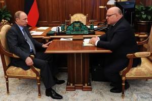 Владимир Путин и Александр Винников
