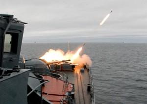 Военно-морские учения.