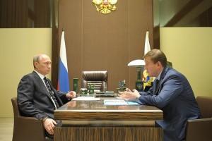 Владимир Путин и Андрей Турчак