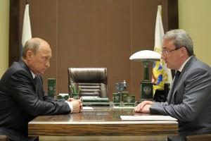 Владимир Путин и Вячеслав Гайзер