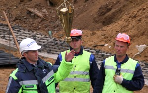 В Москве начато строительство ЦКАД
