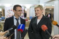Марина Ковтун и Александр Климов.
