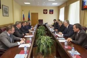 Встреча Марины Ковтун обсудила с руководством ГМК «Норильский никель» и Кольской ГМК