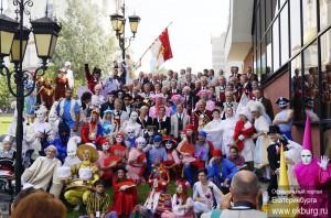 Открытый фестиваль уличных театрализованных представлений «ЛицА УлиЦ»