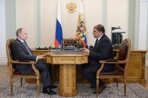 Владимир Путин и Вадим Потомский.