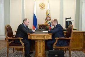 Владимир Путин и Александр Галушка