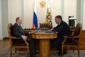 Владимир Путин и Игорь Кошин