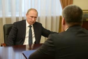 Рабочие встречи Владимира Путина с Сергеем Меняйло и Сергеем Аксеновым