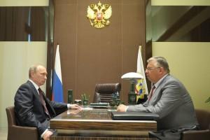 Владимир Путин и Андрей Бельянинов