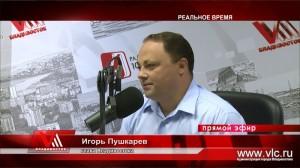 Глава Владивостока Игорь Пушкарёв