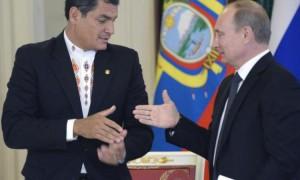 Рафаэль Корреа и Владимир Путин