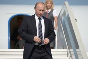 Владимир Путин прибыл на полуостров Крым