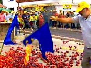 Недовольство испанских фермеров