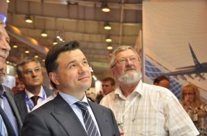 Андрей Воробьев посетил международную выставку вооружения