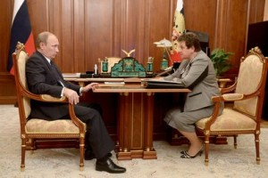 Владимир Путин и Светлана Орлова