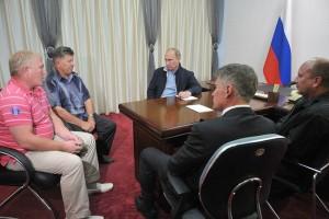 Встреча с представителями крестьянско-фермерских хозяйств Амурской области