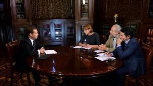 Дмитрий Медведев дал интервью газете «Ведомости»