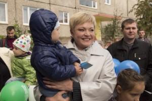 Марина Ковтун приняла участие в Дне двора
