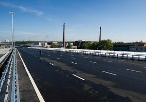 Открытие эстакады между Перовской улицей и Северо-Восточной хордой