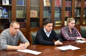 Андрей Воробьев с незапланированным рабочим визитом посетил Павшинскую пойму в Красногорске