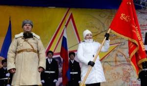 Марина Ковтун приняла участие в мероприятиях, посвященных 70-летию разгрома немецко-фашистских войск в Заполярье.