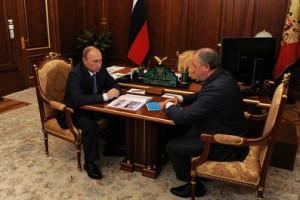 Владимир Путин и Валерий Радаев