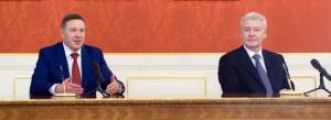 Глава столицы Сергей Собянин: Москва будет развивать сотрудничество с Вологдой
