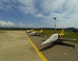 Аэропорт Сочи принимает участников авиашоу