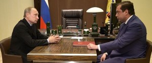 Владимир Путин и Алексей Островский