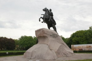 Петр Первый - основатель Санкт-Петербурга