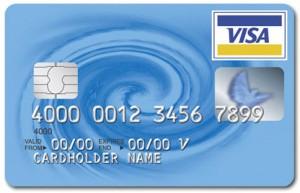 Пластиковая платежная карта