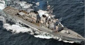 СМИ: Американский эсминец вынудили покинуть Черное море
